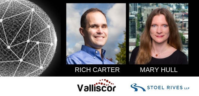 image of Rich Carter from Valliscor and Mary Hull from Stoel Rives