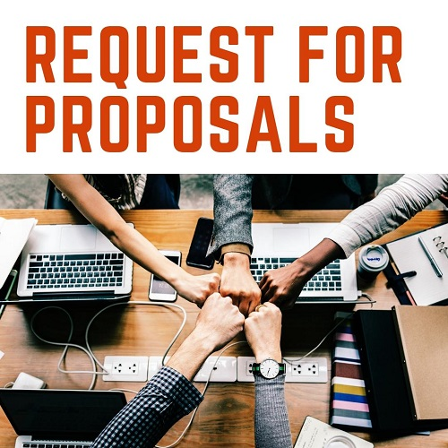 """Image reading """"Request for Proposals!"""""""